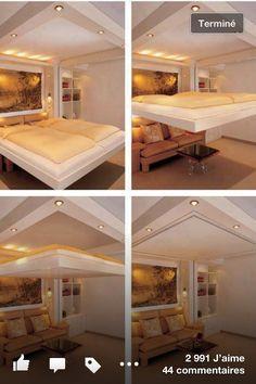 Lit/Plafond