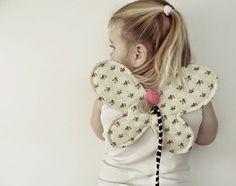 maker*land.: Butterfly wings - tutorial schmetterling flügel nähen kostüm