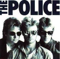 The Police logo and band