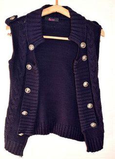 À vendre sur #vintedfrance ! http://www.vinted.fr/mode-femmes/gilets/31301056-gilet-sans-manche