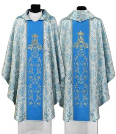 Marian Gothic Chasuble 085-N14