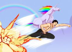Have you ever been so mad that you turned into Robot Unicorn to ride rocket powered Freddy Mercury? Enough internet for today