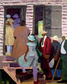 """""""Going to Church"""" Dane Tilghman, African American Artist Known as Premier Painter of the African American Experience African American Artwork, American Artists, African Art, Black Artwork, Afro Art, Portraits, Black Artists, Illustrations, Christian Art"""
