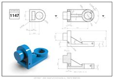 Cad Cam, 3d Drawings, 3d Paper, Autocad, Geometry, Exercises, Concept, Design, Dibujo