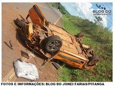 BLOG DO MARKINHOS: Morador de Pitanga capota carro na Rodovia PRC-466...