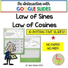 This activity is a Sum Up Activity for students enrolled in PreCalculus, Trigonometry, or College Algebra. There are 10 cards in the activity made with GOOGLE SLIDES. NOTE: THIS ACTIVITY IS NOT EDITABLE! Students can interact with the activity on their on