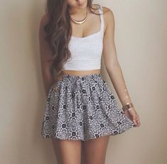 Really comfy and cute skirt