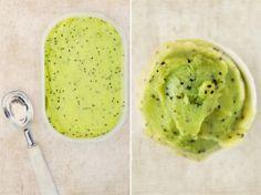 Sorbet au kiwi sans sorbetiere