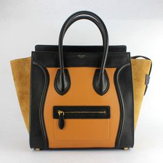 93e0402104 Celine Boston Bag Mini Totes Brown Black