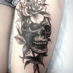 #LxV #tattoo #chef #skull #skulltattoo #blacktattoo #rose #роза #тату #татуировка #russiantattoo