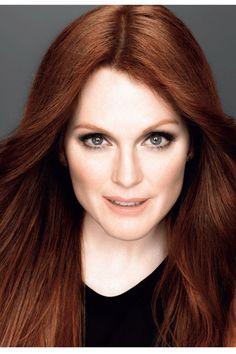 Julianne Moore, nouvelle égérie L'Oréal Paris http://www.vogue.fr/beaute/buzz-du-jour/articles/julianne-moore-nouvelle-egerie-l-oreal-paris/16531