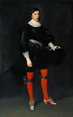 Portrait of James Hamilton, Earl of Arran, Later Marquis and Duke of Hamilton, Aged 17 1623 by Daniel Mytens the Elder circa 1647 Historical Costume, Historical Clothing, Hamilton, 17th Century Fashion, 16th Century, Anthony Van Dyck, Google Art Project, Tate Britain, A4 Poster