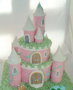 I would like to request this fairy princess cake for my next birthday, please.