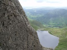 Pavey Ark in the English Lake District