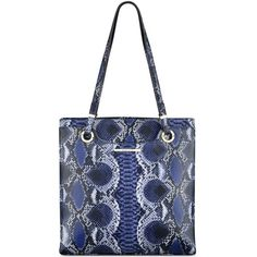 Anne Klein Making the Rounds Large Tote (€66) ❤ liked on Polyvore featuring bags, handbags, tote bags, midnight multi, anne klein purses, anne klein handbags, handbag tote, tote handbags and anne klein tote bag