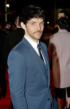 Colin Morgan attends the UK Premiere of 'Testament of Youth' at the Empire Leicester Square on January 5, 2015 in London, England.