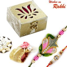 Limited Edition Premium Rakhi Gift Box combo ORWHPR1497