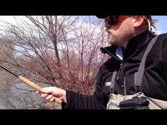 How to cast with a tenkara rod - YouTube