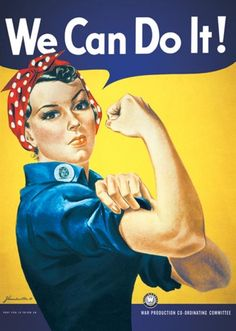 Rosie the Riveter - We Can Do Poster Print (24 x 36) - Item # PYRPP0052 - Posterazzi