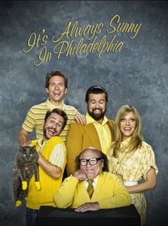 It's Always Sunny in Philadelphia (2005) Poster - Always Sunny is not only always funny, but it also takes much of its structure from Seinfeld. Seinfeld's apartment = the bar in Always Sunny. Just one female character, often ignored. Always Sunny gives your more outloud laughs than Seinfeld, but not as relatable to the average person.
