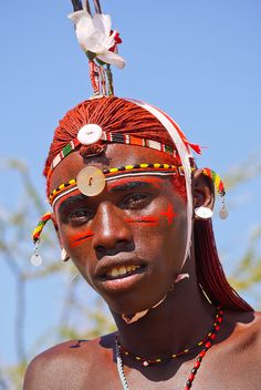 The Samburu people by Rita Willaert, via Flickr  Visítanos en: https://www.facebook.com/hotelcasinointernacionalcucuta
