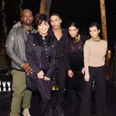 Pin for Later: La Famille Kardashian Jenner Vole la Vedette à Olivier Rousteing Lors de Sa Soirée D'anniversaire