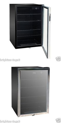 mini fridges new haier 150 can beverage mini fridge glass door cooler