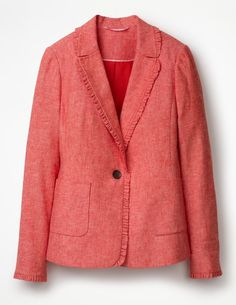 lovely colour for you....wear with navy / grey trousers