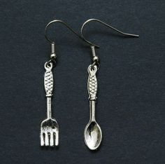 Fork and Spoon Earrings