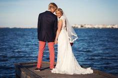 Beautiful picture on the boardwalk at Festival Park in Manteo.   Photo by Matt Lusk Photography www.engagingeventsbox.com #engagingeventsobx #outerbankswedding