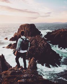 The best journeys in life are those that answer a question you never thought to ask.  #adventure #backpacking #wanderlust #montain #instatravel #travelgram #vscocam #ocean