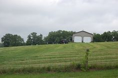 PARCEL F - WOODS ROAD, NICHOLASVILLE, KY - This is a beautiful 5 +/- acre building lot with a 30' x 36' Morton metal equipment building that was built in 2014.  Located just minutes to Champion Golf Course!  Reduced to $179,000! Farms, Acre, Woods, Golf Courses, Champion, Shed, Outdoor Structures, House Styles, Metal