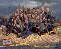Liberalism Is A Disease, by artist Joe McNaughton... Stay away from us, we're sick!!