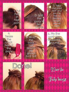 Fake bangs!!!!! My new tutorial!!!!!!