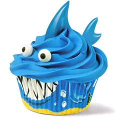 Shark Cupcake | upper sturt general store