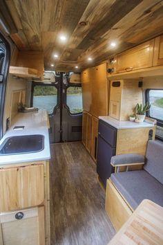 Half Dome - Freedom Vans Van Conversion Interior, Conversion Van, Van Conversion Murphy Bed, Camper Life, Camper Van, Motorhome, Sprinter Conversion, Van Design, Campervan Interior