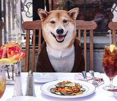 A minimalist tabletop lets Menswear Dog steal the spotlight.