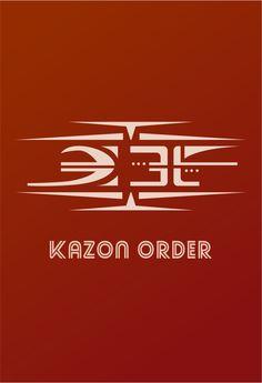 Star Trek Kazon Logo Flat Desgin
