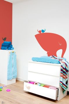 Gorgeous for a kid's room.