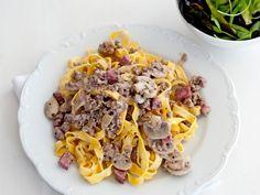 Tagliatelle met champignonroomsaus - Italiaans | Weekmenu