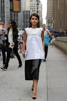 Taylor Tomasi Hill - New York Street Fashion - Street Chic - Fashion - VOGUE Nederland