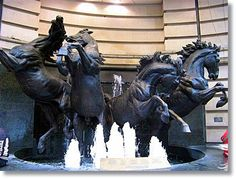 Horses Fountain at The Criterion Theatre in Piccadilly Circus