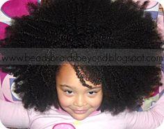 Hair Care Regimen for Biracial Little Girl