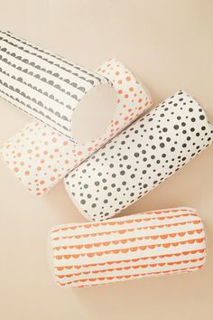 Full Moon Cylinder Neon Cushion design by Ferm Living