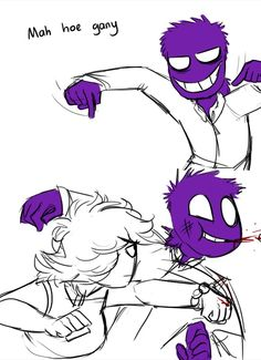 I love these guys! I ship them so hard in fnaf and pilot