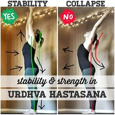 """710 Me gusta, 16 comentarios - Cat Valadez - RYT500/ERYT200 (@catvaladezyoga) en Instagram: """"If you have arms, you can do this pose, and that's what I really love about #urdhvahastasana: it's…"""""""