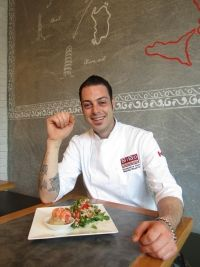 As the new executive chef at the BiBo Pizzeria con Cucina, Mattia Repetto brought beloved dishes from northern Italy with him to Canada; this salad is what he likes to eat at home.