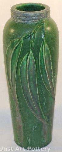 Ephraim Faience Pottery | Pacific Eucalyptus Vase | 2003