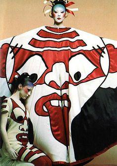 Come Back Kansai Yamamoto. Fashion has not been the same.
