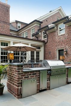 Classic Scarsdale Brick Colonial - Traditional - Exterior - New York - Fivecat Studio | Architecture